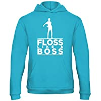 Kids Floss Like A Boss Hooded Top Boys Hoodie