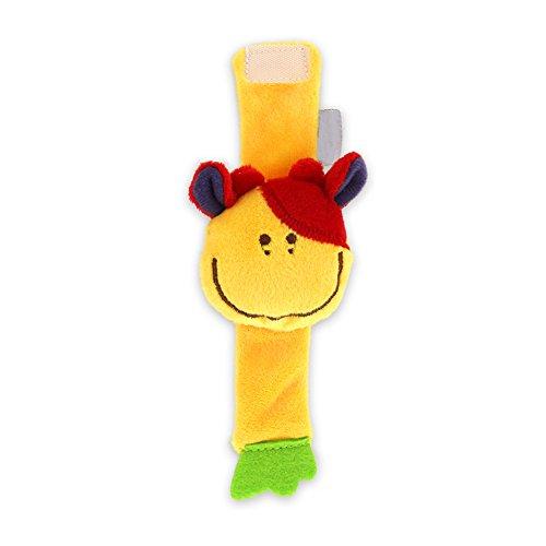 Newin Star Baby Handgelenk-Rasseln, Educational Entwicklung Weich Tier Spielzeug Dusche Geschenk (Cute Bee) 1Stück Bulle