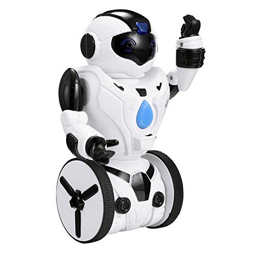 Preisvergleich Produktbild Hikenn Fernbedienung Roboter, intelligente Selbst Balancing Roboter, 5 Betriebsarten , Tanzen, Boxen, Fahren, Beladen, Geste. 2,4 GHz-Sender