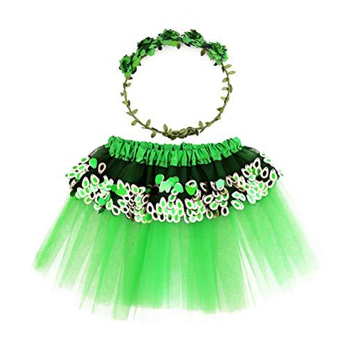 Amosfun 2 stücke Cosplay Prinzessin Dress up kostüm Stirnband Dance Outfits für Kinder (Dance 2 Stück Kostüme)