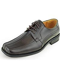 1c57f49a6 Mocasines de Hombre Zapatos de Vestir Oxford con Punta de Bicicleta  Cuadrados Formales (Color
