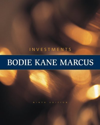 Loose Leaf Investments (The Mcgraw-Hill/Irwin Series in Finance, Insurance and Real Estate) 9th (ninth) Edition by Bodie, Zvi, Kane, Alex, Marcus, Alan published by McGraw-Hill/Irwin (2010)