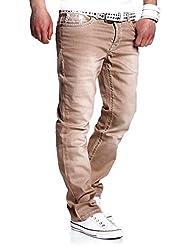 MT Styles Jeans Straight-Fit Pantalon RJ-133
