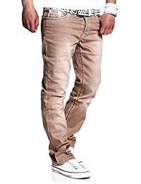 MT Styles Jeans Straight-Fit Pantalon RJ-133