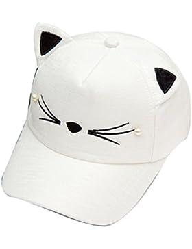 Belsen Kind Baby-Katze Ohr Perlenstickerei Baseball Kappen Cap Truckers Hat