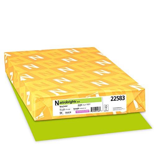 apier, 27,9x 43,2cm 24LB/89GSM, terra grün TM, 500Blatt (22583) ()