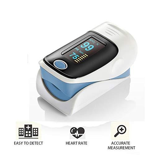 CX TECH Fingertip Pulsmesser Finger Pulsoximeter Sauerstoffsättigungsmonitor LED Finger Pulsoximeter -