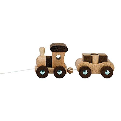 Goki - 2041454 - Figurine Transport Et Circulation - Train en Bois Vancouver