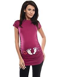 Purpless Maternity Printed Slogan Cotton Pregnancy Top T-Shirt Tee Love Print 2010