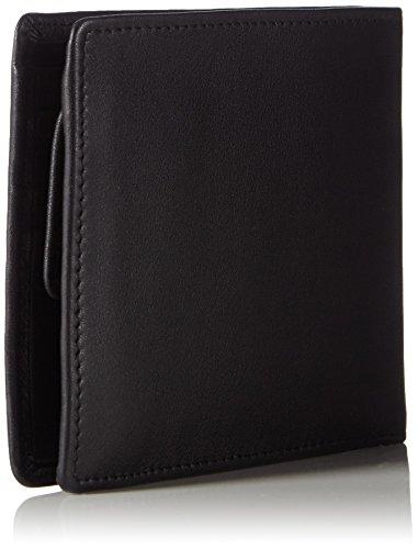 Maitre Herren f3 Gilbrecht Billfold H4 Geldbörsen, 12x10x1 cm Schwarz (Black 900)