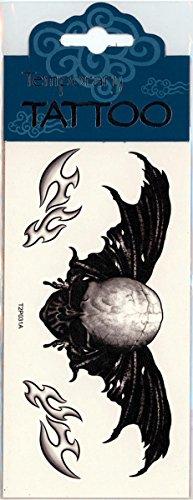 Ala tatuaggio Winged Skull