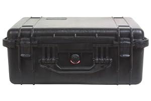 Peli 1550 Boîte en plastique avec revêtement intérieur en mousse