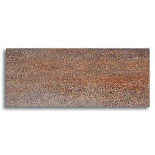 Bodenfliese Meissen Steel braun 30x60cm/Metalloptik (1 Paket/1,6 m² Steel) - 19,94€ pro qm² Fliesen/Anzahl pro Paket: 9 Stück