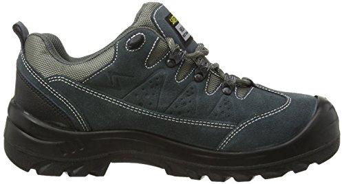 Safety Jogger KRONOS, Unisex - Erwachsene Arbeits & Sicherheitsschuhe S1, grau, (blk/dgr/mgr 112), EU 41 Grigio (Nero/Grigio scuro)