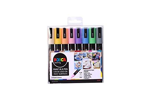 Posca 153544854 - Set de rotuladores de pintura al agua