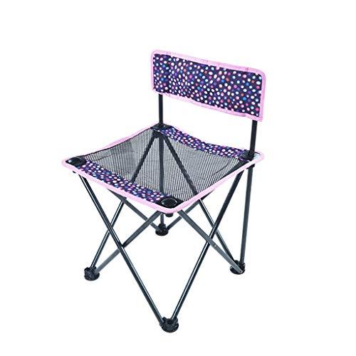 LIX-BD Outdoor-Produkte/tragbare Klappstühle Klappstuhl Outdoor Familienreisen Picknick Camping Bergsteigen Malerei Strandstuhl