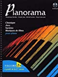 partition pianorama piano 2 et 4 mains volume 2a partition cd