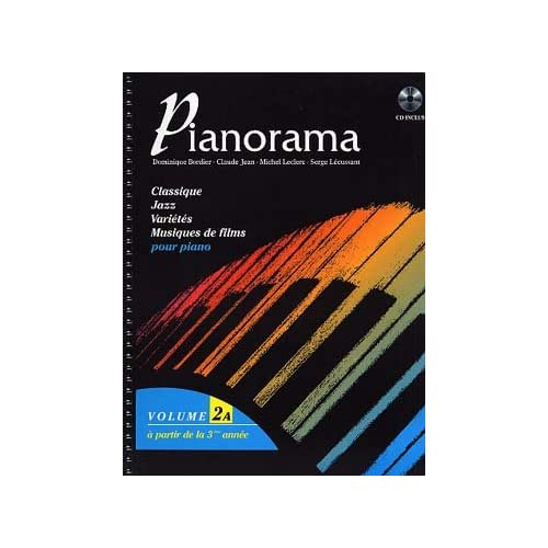 Partition : Pianorama - Piano 2 et 4 mains - Volume 2A - Partition + CD