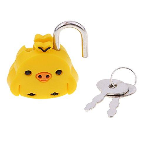 Mini candado de metal, candado de seguridad, bonitos