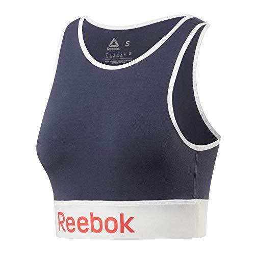 Reebok Linear Logo Cotton Bra Top