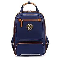 Wewod Fashion femmes hommes filles garçons cartable 15,6 pouces pour ordinateur portable sac à dos 30 * 41 * 14 cm (Bleu)