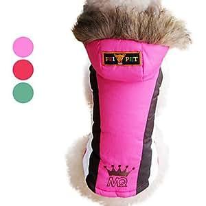 Combinaison de Ski Chaude et Confortable pour Chiens, XS-XXL - Assortiment de Couleurs