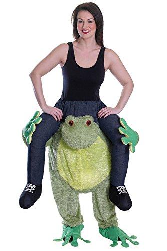 Frog - Piggy Back-Kostüm - Adult (Piggy Kostüm Back)