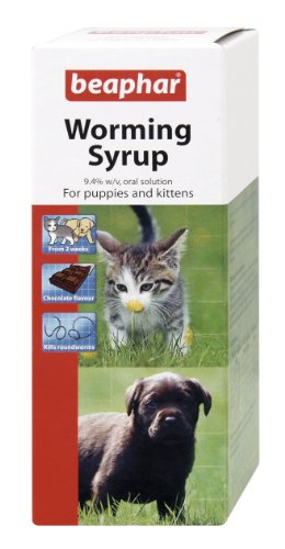 Beaphar Worming Syrup 45 ml (Pack of 2) 1