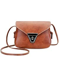 Fashion Soft PU Leather Women Crossbody Bag Adjustable Strap Mini Casual Style Dating Party Shoulder Bag Small...