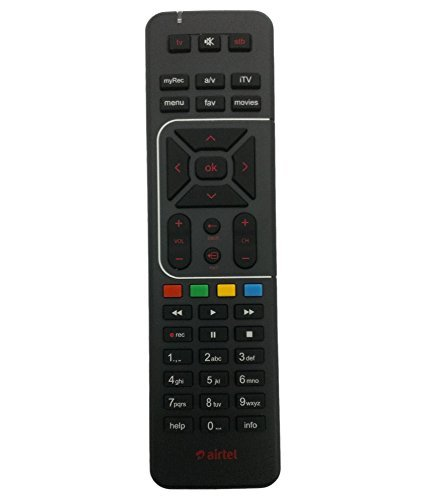 Airtel Digital TV dth Remote Control Works With Your TV Also  available at amazon for Rs.159