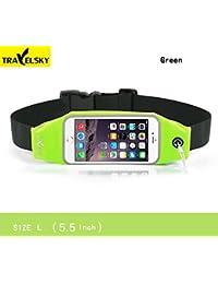 Travelsky Touch Screen Waist Pack - 16506L02, Green