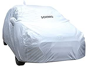 Amazon Brand - Solimo Hyundai i20/Elite i20 Water Resistant Car Cover (Silver)