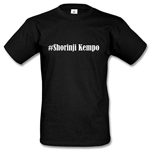 T-Shirt #Shorinji Kempo Hashtag Raute für Damen Herren und Kinder ... in den Farben Schwarz und Weiss Schwarz