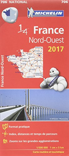 Descargar Libro Carte France Nord-Ouest Michelin 2017 de Michelin