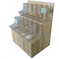 Mueble kit de 100 cm con dispensadores a granel