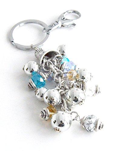 PT115 Schlüsselanhänger/Schmuck, Perlen, bunt Cluster Modeschmuck -