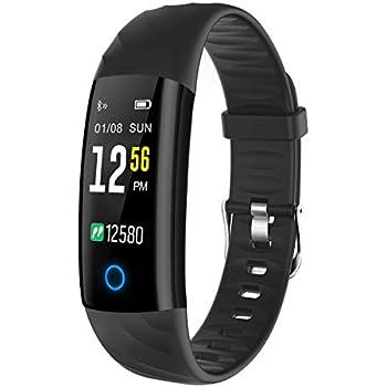 ELEGIANT Pulsera de Actividad Reloj Inteligente Deportivo IP68 Hombre Mujer con Monitor de Ritmo Cardíaco Sueño
