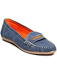Bare Soles Denim Loafers