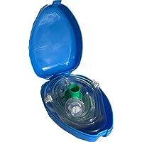 Pro de Breathe funda auxilios Máscara para Erst Utensilios CPR-105Mask Máscara de bolsillo bocas ayuda