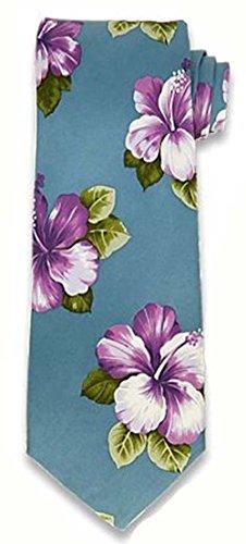 tommy-bahama-mens-aloha-flower-purple-100-silk-tie-necktie