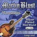 Martin Blust Mandolinen-Saiten Set 1700 Silver Wound