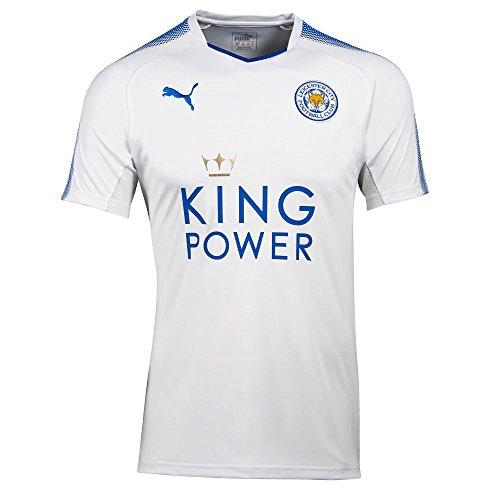 Puma Fußball Leicester City FC England Trikot 3rd 2017 2018 Herren weiß blau Größe S
