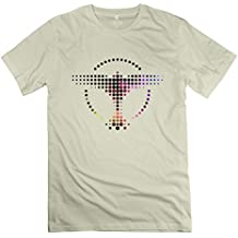 Men's DJ Tiesto Music Bird Logo O-neck Tee ForestGreen