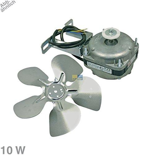 Ventilator Lüfter Gebläse Kühlgerätegebläse Kühlgerätelüfter Motor Kühlgerätelüftermotor Lüftermotor 10 Watt 230V Kühlschrank Gefriergerät Kühlautomat universell einsetzbar