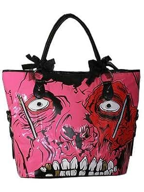 Iron Fist Gold Digger IFLBG0021, Damen Handtasche, Rosa (Pink)