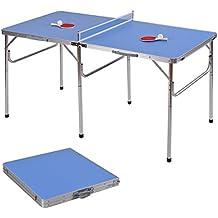 GOPLUS Table de Ping Pong Tennis Table Convients aux Enfants et  Adultes,Facile à Assembler 3797e4e46bb3