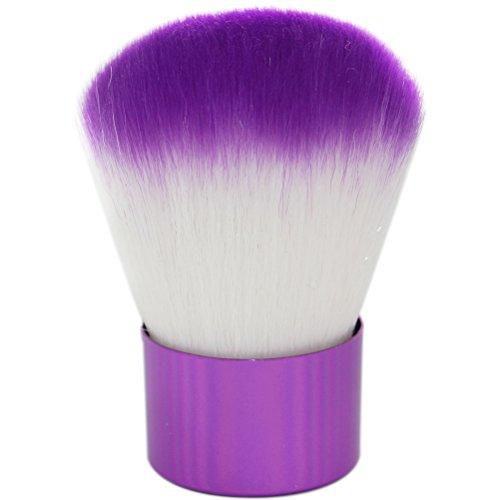 yingman Grand pinceau blush visage maquillage pinceau poudre correcteur maquillage outil (Violet)