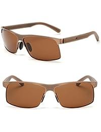 9bdb32e6d4 bagland Marco de metal polarizadas de protección UV400 tac lentes Gafas de sol  para conducir