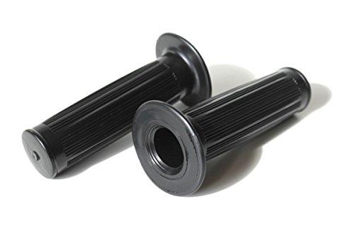 Preisvergleich Produktbild Lenkergriffe Griffe Griffgummis schwarz - Mofa Moped Zündapp Puch Kreidler Hercules