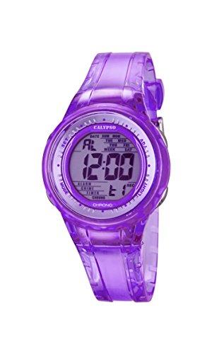 Calypso Watches Reloj Digital para Mujer de Cuarzo con Correa en Caucho K5688_3